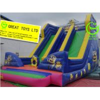 Wholesale Best selling inflatable minion slide with 24months warranty GT-SAR-1642 from china suppliers