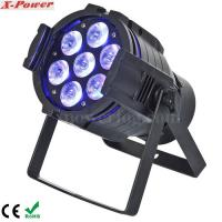 Wholesale 5 in1 15W RGBWA 7PCS LED Par Can Stage Lights , 15 ~ 40 degree Beam Angle from china suppliers