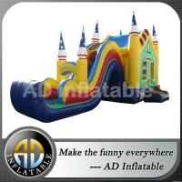China Newest useful inflatable bouncy slide with roof on sale