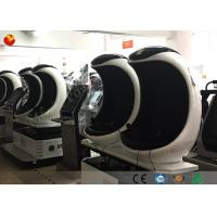 Economic Egg Shaped 9D VR Cinema Virtual Reality With Chinese / English Edition