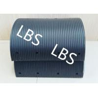 Wholesale High Polymer Nylon Lebus Grooved Sleeves Light Weight Black color from china suppliers