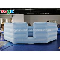 Buy cheap Oxford cloth Inflatable Gaga Ball Pit with Air Blower for School Activity from wholesalers