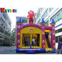 Wholesale KCB056-tomato girl combo,inflatable combo game,fun bouncer with slide obstacle from china suppliers