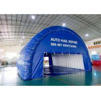 China Lightweight Blue Airtight Inflatable Tunnel Tent For Advertising , Celebration on sale