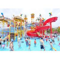 Wholesale Fiberglass Aqua Playground Equipment Natural Forest Theme Water House For Resort Hotel from china suppliers