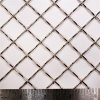 China 3x3 Lock Crimp Wire Mesh Heavy Duty Mesh Screen With PVC Coated Surface on sale