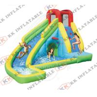 China Small Water Park Inflatable Water Slide , Small Home Inflatable Slide Games on sale