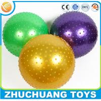 Wholesale 65cm inflatable spiky pvc fitness ball,pilates ball from china suppliers