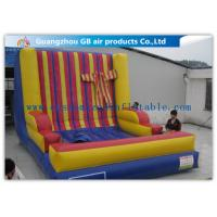 Wholesale Popular PVC Inflatable Velcro Wall Adults Sport Blow Up Sticky Wall from china suppliers