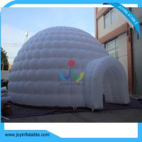 Wholesale Diameter 10M Oxford Inflatable Dome Tent with LED Light from china suppliers