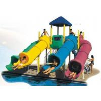 Wholesale Import engineering plastic playground and stainless steel water park plastic slide from china suppliers