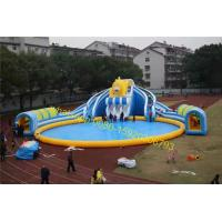 China giant water slide park for sale on sale