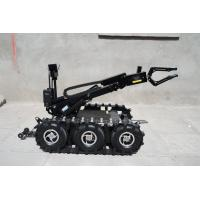 Aircraft Grade Aluminum Alloy Mobile Eod Robot Device With Stretched Arms And Control System