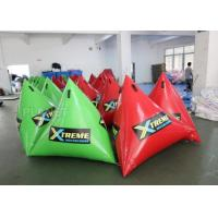 Wholesale Green Inflatable Marker Buoy / Inflatable Floating Water Park 3 Years Warranty from china suppliers