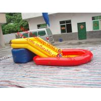 Wholesale children inflatable pool with slide from china suppliers