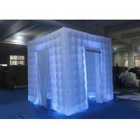 Wholesale Flexible Inflatable Photo Booth -20 To 60 Degrees Working Temp With Curtain from china suppliers
