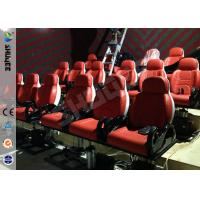 Wholesale Red Hydraulic Mobile Theater Chair For 7D Movie Theater 1 Year Guaranty from china suppliers