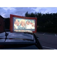 Wholesale 7 M Long Portable Outdoor Inflatable Movie Screen For Outdoor Cinema from china suppliers