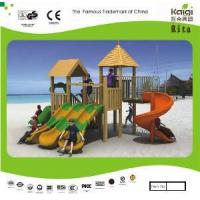 Wholesale Wooden Playground (KQ10152A) from china suppliers