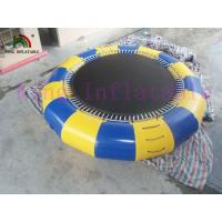 China 5m Diameter 0.9mm PVC Tarpaulin Bouncer Trampoline Inflatable Water Toy For Water Park on sale