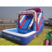 Wholesale Outdoor Amusement Mermaid Pink Inflatable Water Slide Double Strong Stitching from china suppliers