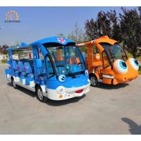 Wholesale Luxury Sightseeing Car Electric Train Ride Dolphine / Clownfish Design from china suppliers
