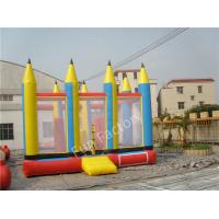 Inflatable Pencil Bouncer Adult Bouncy Castles Funny Jumping House