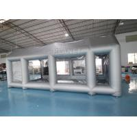 Wholesale Silver 7m Length Large Inflatable Auto Paint Booth 3 Years Warranty from china suppliers