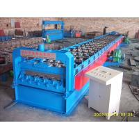 Wholesale 720 Floor Deck Roll Forming Machine 15 KW Power and 400H Main Frame from china suppliers