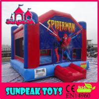 Wholesale BO-217 Spider-man Popular Used Commercial Air Inflatable Trampolines from china suppliers