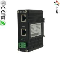 Wholesale 12-48VDC Power Input Industrial Fiber To Gigabit Ethernet Converter RJ45 POE Ports from china suppliers