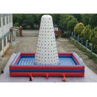China Flying Spider - Man Inflatable Rock Climbing Wall 0.55mm PVC Tarpaulins Material on sale