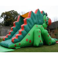 Quality Toddler Inflatable Dinosaur Dry Slide Playground Pvc Combo Bounce Toboggan for sale
