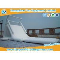 Wholesale China Wholesale Durable Cheap Lake White Inflatable Water Slides from china suppliers