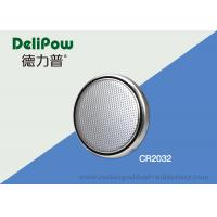 Wholesale Customized Voltage / Size Button Cell Battery CR2032 High Capacity from china suppliers