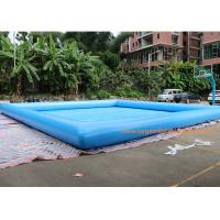 Wholesale Fire Retardant And Waterproof Blow Up Swimming Pool 10*10m Or Customized from china suppliers