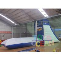 China Water Park Floating Inflatable Water Toys Water Blob Pillow With Tower Climbing Wall on sale