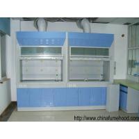 Laboratory Steel Fume Hood , Lab Fume Cupboard With PP Sink / Water Faucet