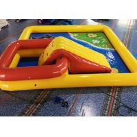 6 * 6 * 0.65M Inflatable Swimming Pool / Large Inflatable Pool Toys For Kids