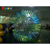 Wholesale Fluorescent zorb ball,roller ball shine ball,water game Aqua fun park water zone KZB002 from china suppliers