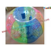 China Colorful Large Inflatable Soccer Bubble Ball / Body Zorbing Ball Party on sale