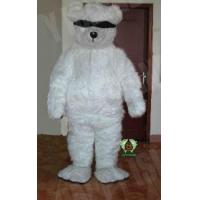 Wholesale Bear with Eyeshade Mascot Costume from china suppliers