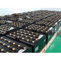 Wholesale Soft Connection Forklift Traction Battery , 770Ah / 6hr 48 Volt Forklift Battery Cells from china suppliers