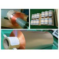 Quality 35um FCCL Copper Sheet Roll , 1oz Thickness 300mm Width Copper Foil Sheet for sale