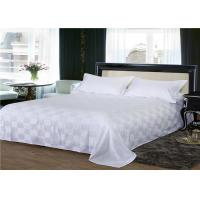 Wholesale Customized Size Dorm Room Bedding Sets  250TC Square Pattern 100% Cotton from china suppliers