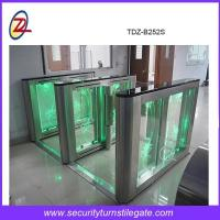Wholesale Double Channel Speed Gate Turnstile RFID Card For Office Building Automatic Turnstile from china suppliers