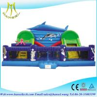 Wholesale Hansel fantastic inflatable pirate ship for commercial fun city from china suppliers