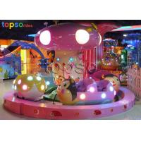Buy cheap 16 Seat Ladybug Paradise Kids Park Rides Shopping Mall Rotary Amusement Rides from wholesalers