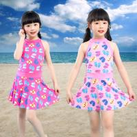 Quality Sunny Girls Swim Suit Two Pieces Shirt Girl Push Up Swimsuit For Children for sale