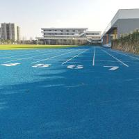 Buy cheap Colorful All Weather Track Surface / Running Track Material Two Layers from wholesalers